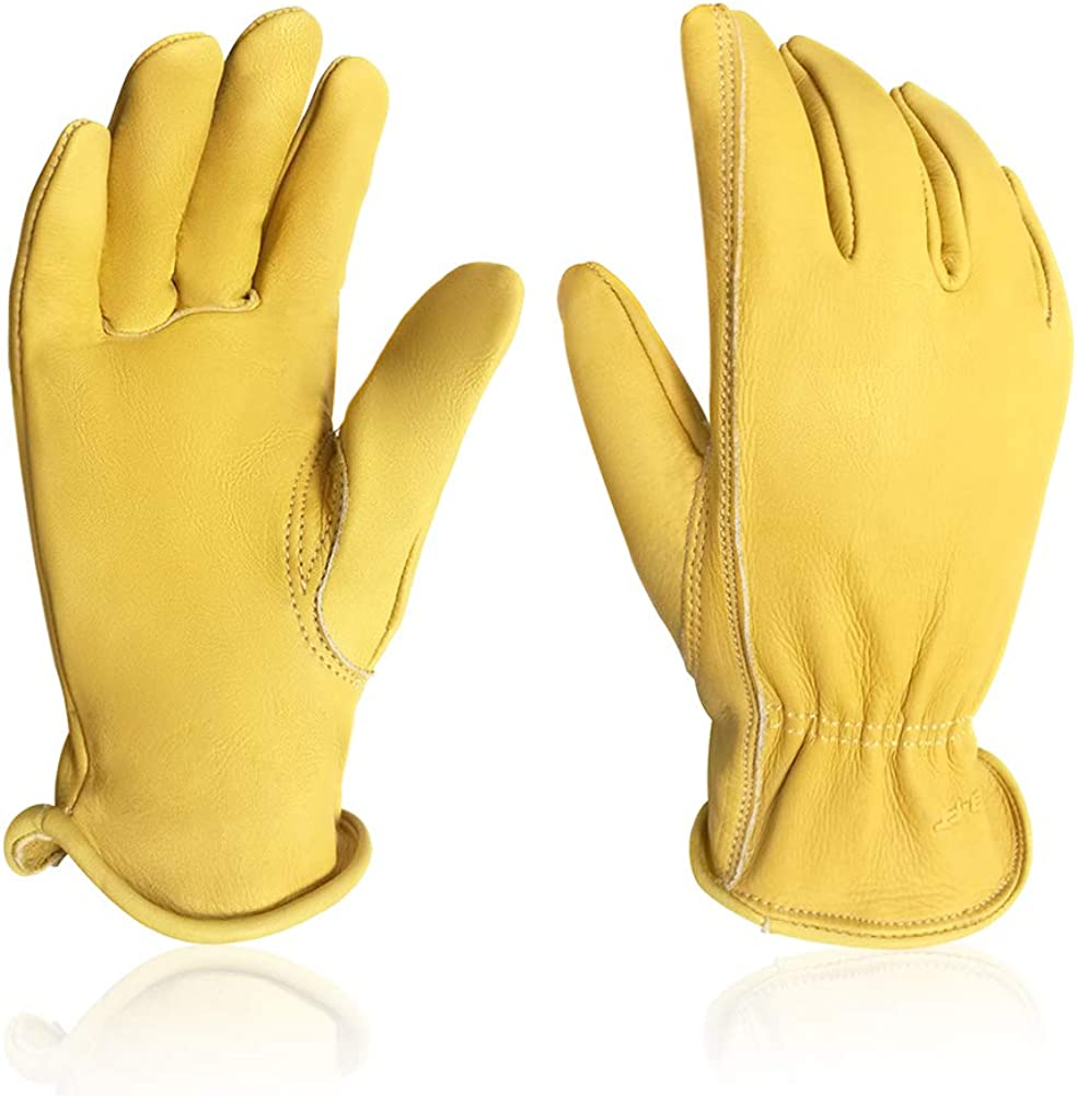 Intra-FIT Water-Resistant Cowhide Leather Gloves G Limited time trial price Product Driver Garden