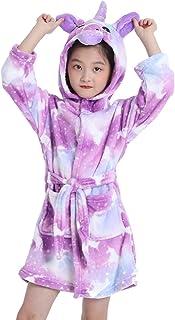 Unicorn Robe Soft Hooded Bathrobe Sleepwear Unicorn Gifts for Girls