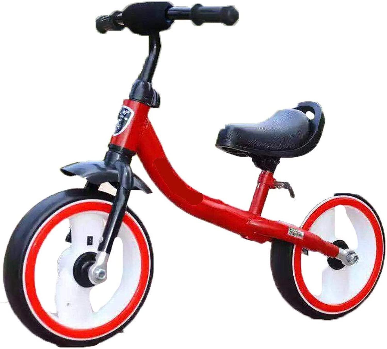 Bilancia per bambini Equilibrio bimbo in bicicletta senza pedale Equilibratore a due ruote con volante lampeggiante uomoubrio regolabile e seggiolino for bambini Adatto for bambini da 3 a 8 anni Nessun