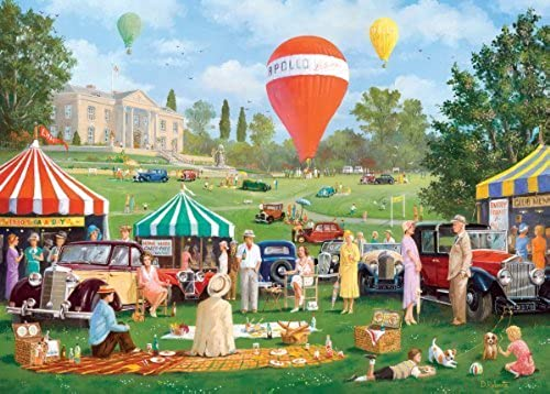 Gibsons Summer Rally Jigsaw Puzzle (1000 Pieces) by Gibsons