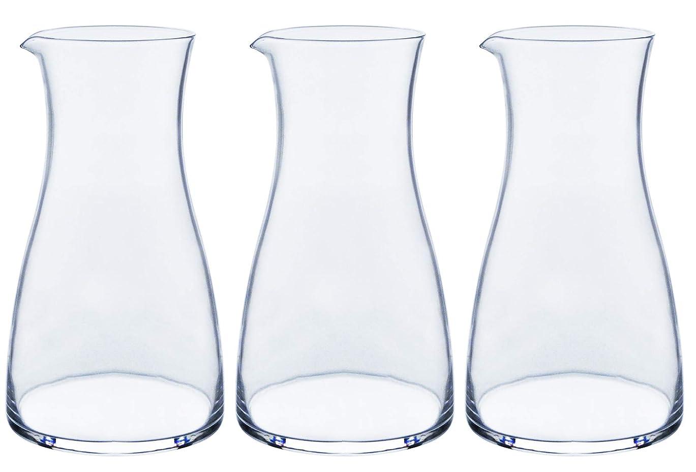 黒板急行する電気的東洋佐々木ガラス 冷酒カラフェ クリア 310ml 徳利 日本製 食洗機対応 00247-JAN