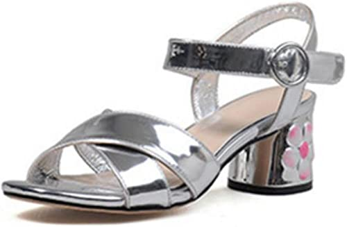 GSHGA Les Les Les dames Sandales Haut Talons Sandales Femmes épais Chaussures De Table Imperméables à L'eau  être en grande demande