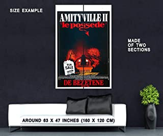 74069 Amityville II The Possession 1982 Thriller Indie Decor Wall 63x47 Huge Giant Poster Print