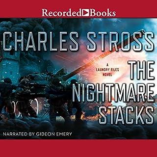 The Nightmare Stacks audiobook cover art