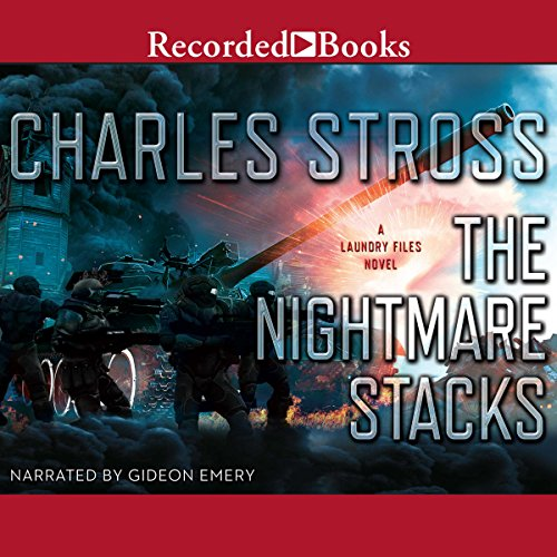 The Nightmare Stacks audiobook cover art