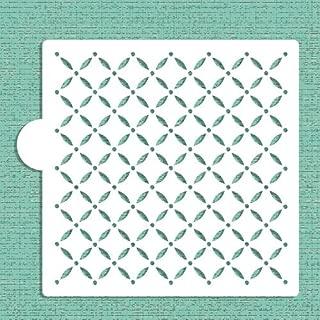 lattice cake stencil