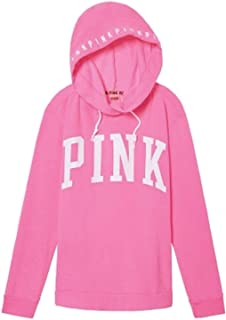 Victoria's Secret Crossover Pullover Tunic Hoodie Oversize Medium Candy Pink