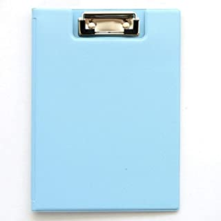 A5 Fold Over Clipboards - Black (Pack of 2) Fold-Over Clipboard with Front Pocket (Color : Blue)