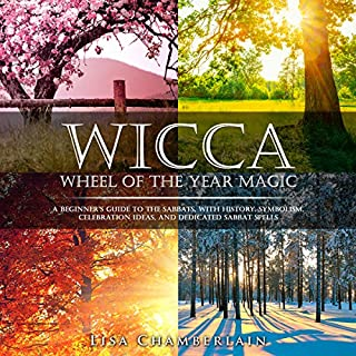 Wicca Wheel of the Year Magic audiobook cover art