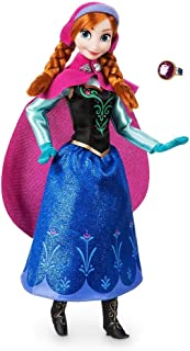 Disney Store Anna Classic Doll with Ring - Frozen - 11 1/2'' 2018 Version