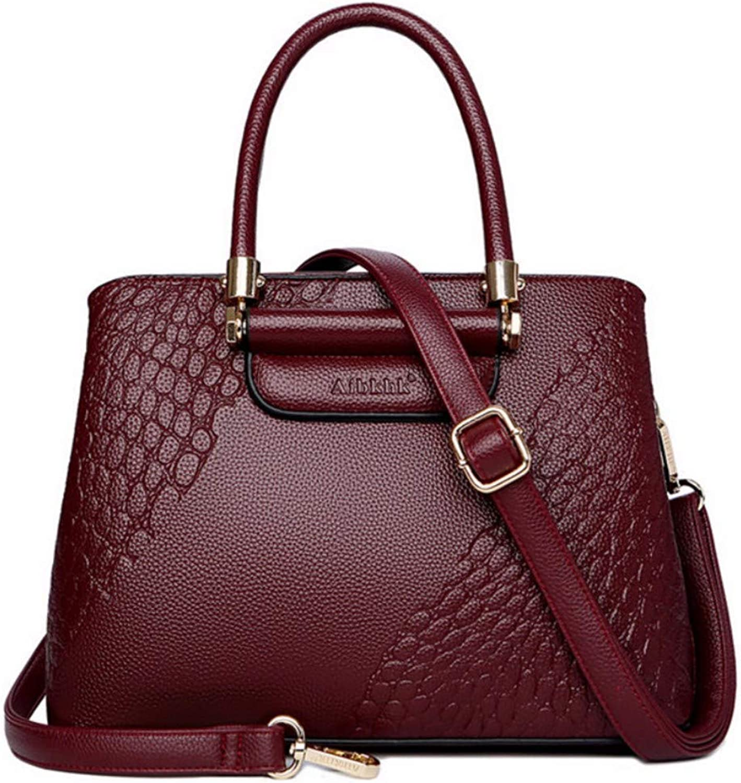 JQSM Serpentine Leather Bag for Women 2019 Leather Luxury Handbag Women Bag Designer Ladies Hand Bags Mother Gift