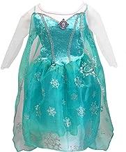 Fantasy Ruz Disfraz Vestido Elsa Frozen Niña Disney Original