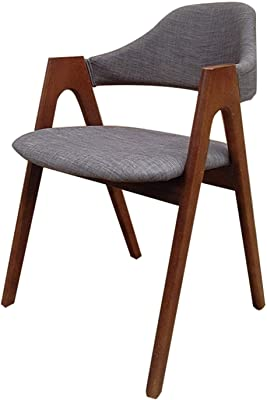 Solid Wood Backrest Dining Chair, Modern and Simple Home, Bedroom, Coffee Chair, Restaurant, Lounge, Conference Hall, Business Negotiation, Small Apartment Armchair,