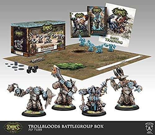 Hordes Trollbloods  Battlegroup Starter Box (Mk III) by Hordes