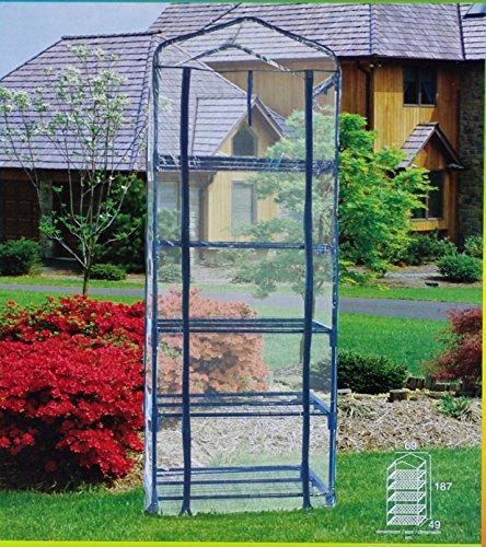 Papillon 8093015 Serre portable en PVC 5 niveaux 187 cm