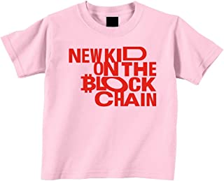 New Kid On The Blockchain Bitcoin Toddler Tshirt