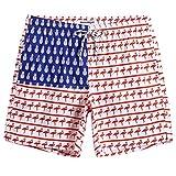 MaaMgic Mens American Flag Swim Trunks Bathing Suits Board Shorts Swimming Shorts