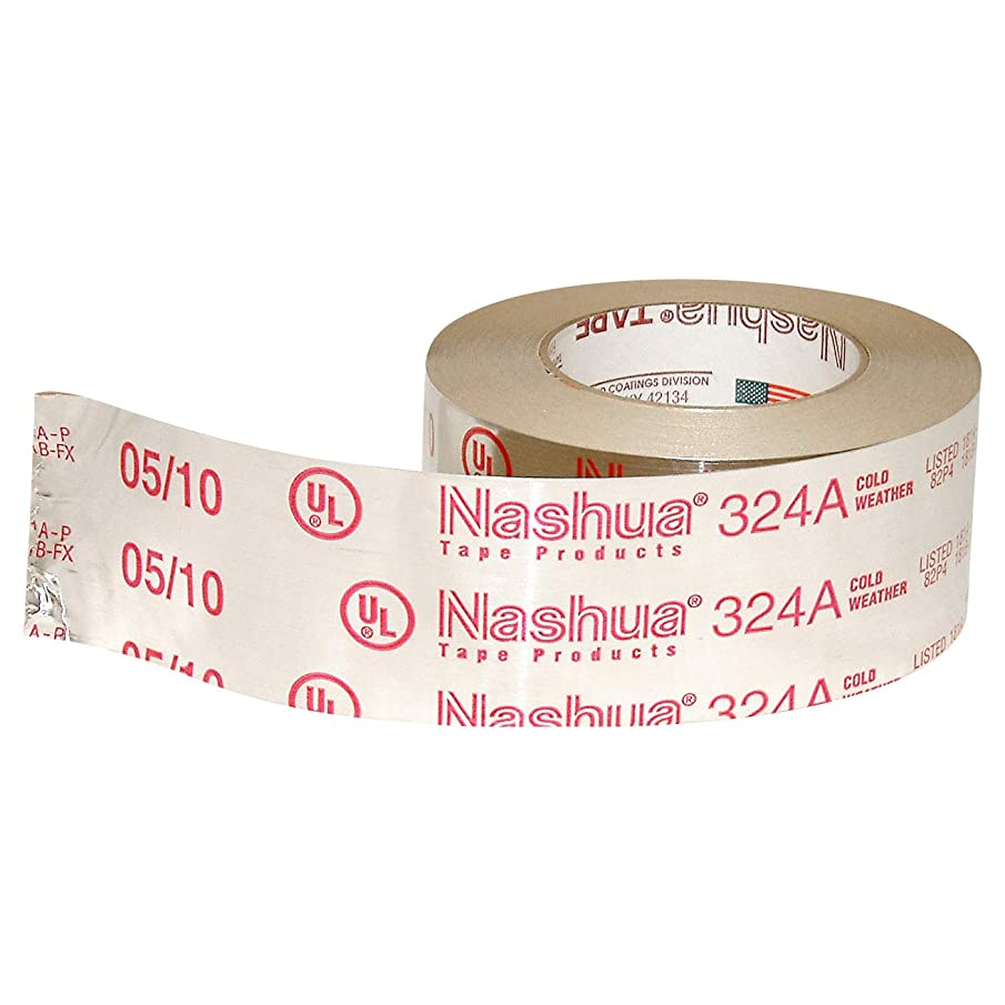 Nashua 324A Cold Weather Premium Foil Tape, 4.8 mil Thick, 60 yards Length x 2-1/2