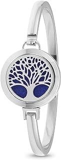 sterling silver diffuser bracelet