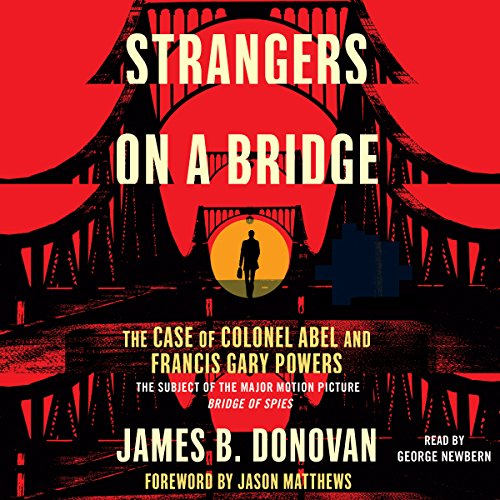 Strangers on a Bridge audiobook cover art