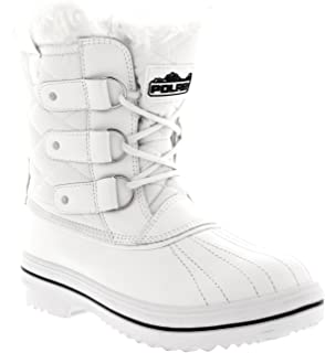 white rain boots short