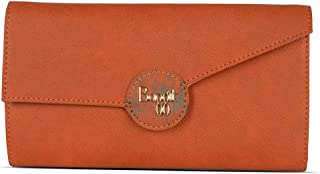 Baggit Autumn/Winter 2020 Faux Leather Women's Harmonium Wallet (Orange) (Presley)