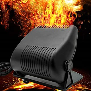 Car Heater - 2 in 1 Portable 12V 150W High Power Fast Heating & Cooling Fan Defrost Defogger, for Automobile Windscreen