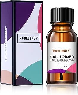 Modelones Professional Natural Nail Bond Primer,Nails Nail Protein Bond, Superior Bonding Primer 0.5 oz 1pcs For Gel Nail Polish,adhesives uv gel polish tips uv gel system manicure tips functional use