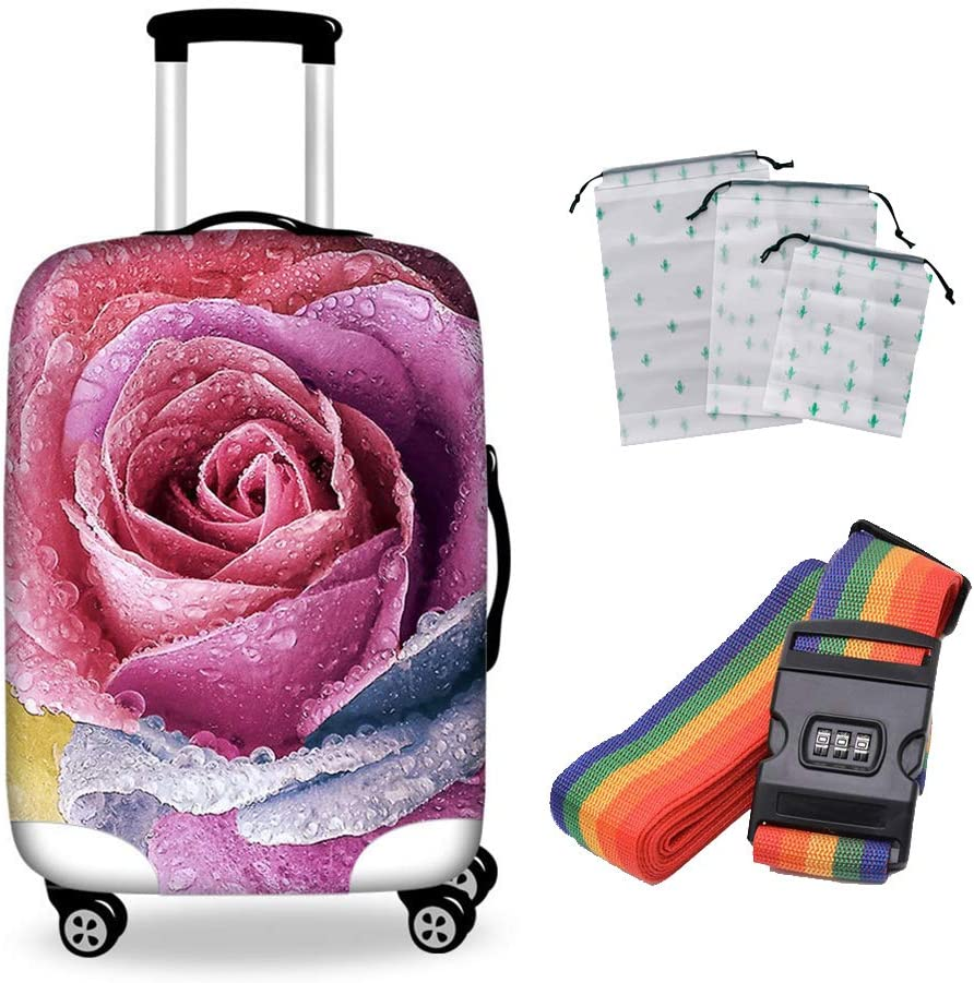 Rachael Suitcase Free Shipping Cheap Phoenix Mall Bargain Gift Cover High-Elastic Polyester Protectiv