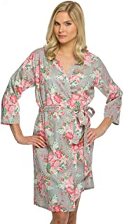 Cotton Floral Robe Style CFROB