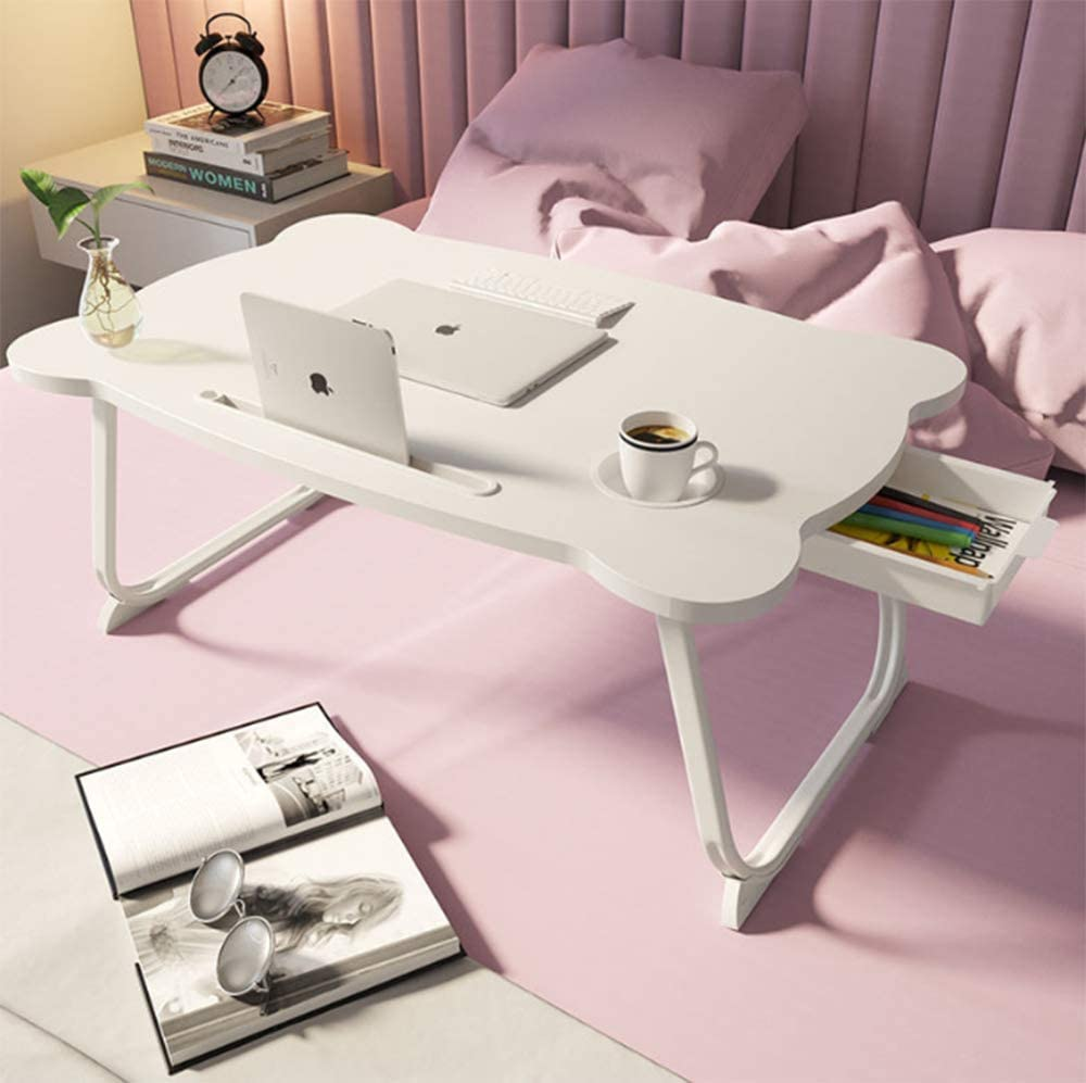 Foldable Laptop Bed Table Lap Desk Ta Ranking TOP5 Financial sales sale Tray Dining Serving Stand