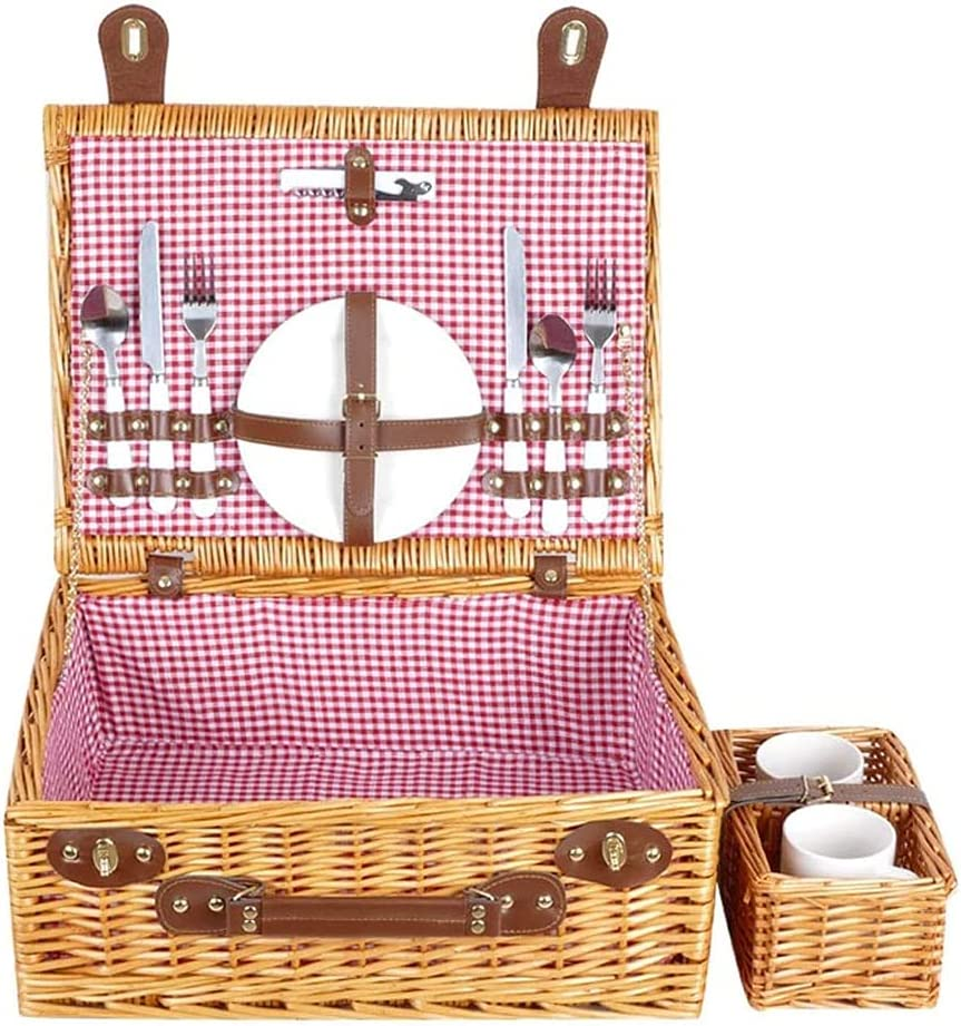 Challenge the lowest price of Japan SETSCZY shipfree Home Garden Outdoors Picnic Wicker Basket Baskets