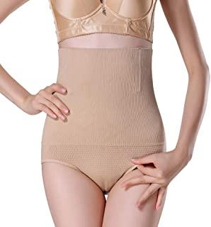 Junya Women Slimming High Waist Trainer Tummy Control Panties Comfortable Cotton Ladies Shapewear