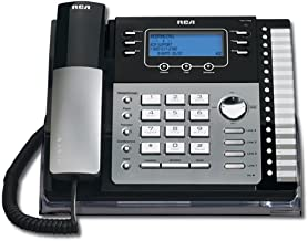 RCA ViSys 25424RE1 4-Line Expandable System Speakerphone with Call Waiting/Caller ID/Intercom,Silver photo