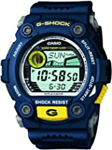 Casio Men's XL Rescue Series G-Shock Quartz 200M WR Shock Resistant Resin Color: Blue (Model G-7900-2CR)