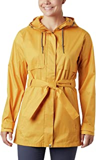 Columbia Women's Pardon My Trench Rain Jacket, Breathable, Lightweight