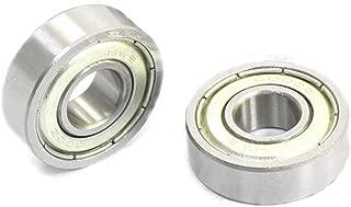 SODIAL(R) 6000Z 10mm x 26mm x 8mm Selladas Rodamientos Rigidos de Bolas 10 Pcs