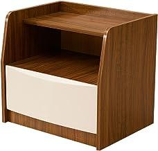 Bedside Table Bedside Table - Modern Minimalist Bedside Storage Locker Mini Panel Bedside Cabinet Size -42x52x48cm