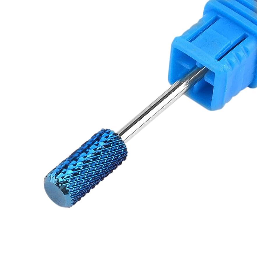 不健康交流する飼いならすTOOGOO Co8 タングステン鋼 ネイル用 メッキ タングステン鋼の研削ヘッド シングル-タイプ 電動ネイル用研削盤のツール
