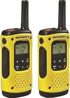 Radio PMR Motorola TLKR T92 H2O IP67 con 2 Piezas Amarillo