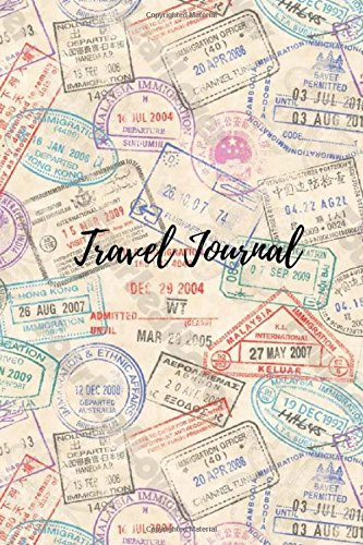 Travel Journal: 6' x 9', lined journal, travel notebook , blank book notebook, durable cover,150 pages for writing notes [Lingua Inglese]