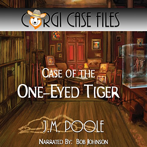 Case of the One-Eyed Tiger audiobook cover art