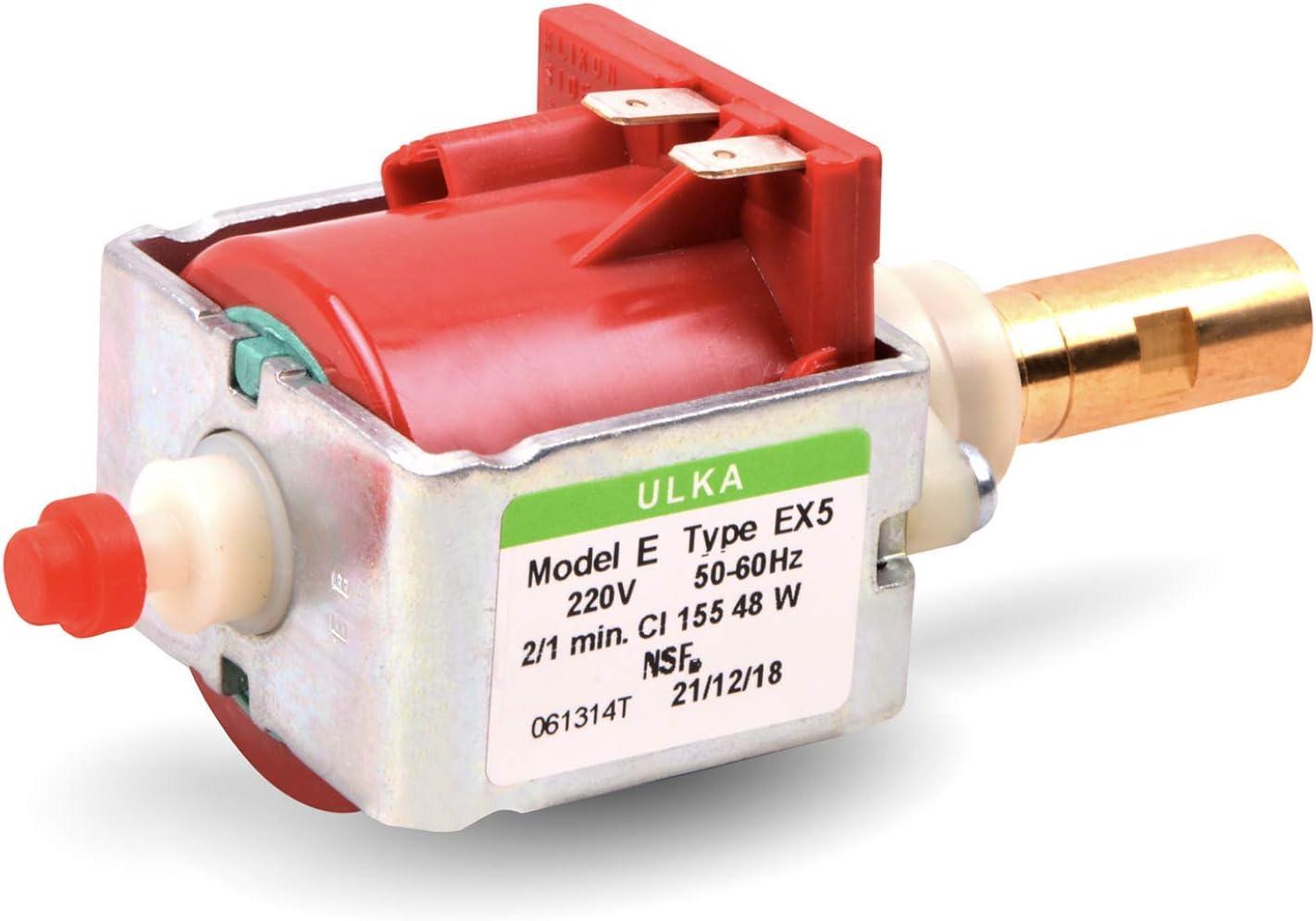 Bomba de agua de repuesto para Ulka EX5, 220 V, 48 W, 15 bar, bomba eléctrica