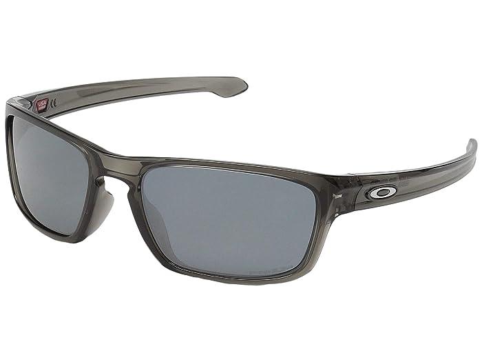 Oakley Sliver Stealth (Grey Smoke w/ Prizm Black) Sport Sunglasses