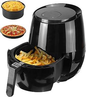 Friteuse à air,friteuse électrique sans Huile de 3,5 L/5,2 L,écran Tactile,minuterie et contrôle de température réglable p...