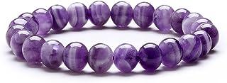 Bracelet Perles Bracelet Pierre Naturelle Bracelet en Perle Bracelet Élastique Bracelet Femme Bracelet Extensible Cadeau d...