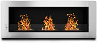 Regal Flame Elite Lenox Ventless Bio Ethanol Recessed or Wall Mounted Fireplace