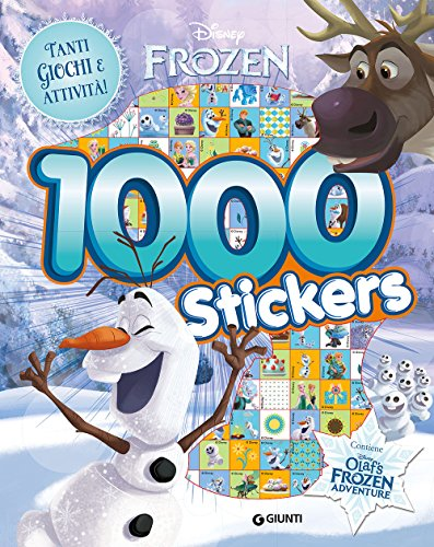 Olafs Frozen adventure. 1000 stickers