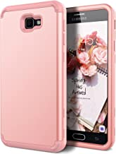 Galaxy J7 Prime G610 Case, Galaxy On7 2016 Case, WeLoveCase 3 in 1 Hybrid Heavy Duty Impact Resistant Armor Defender Protective Case for Samsung Galaxy J7 Prime(2016) / On7 2016 / On NXT Rose Gold