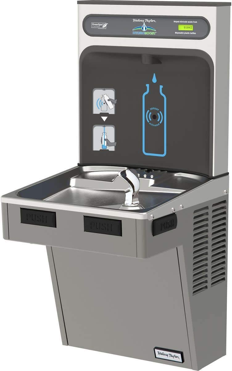 Water Cooler W supreme HydroBoost Light Direct store Refilling Gray Station